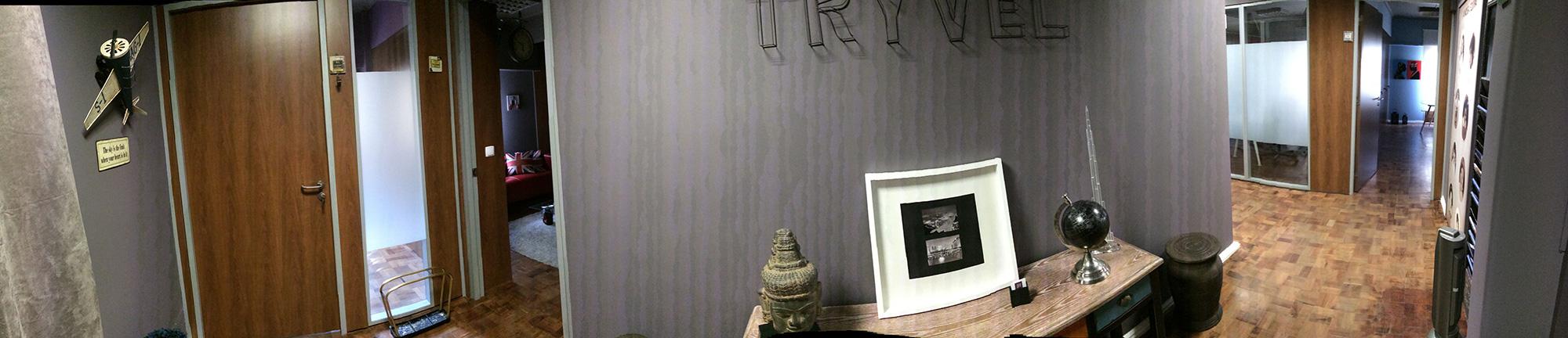 Tryvel Office -  Lobby
