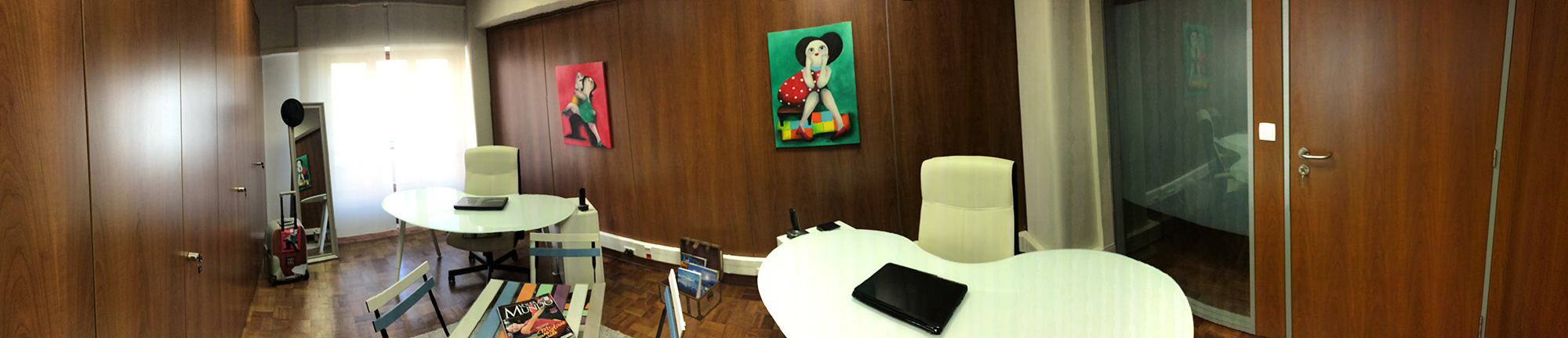 Tryvel Office - Comercial Room |  Buenos Aires Café